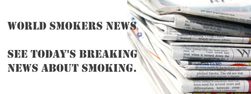 World Smokers News - See today's breaking news about smoking.